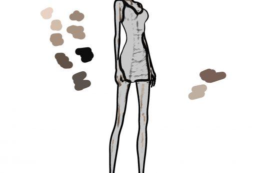 Sketch-Fashion-Girl - TipsyRedFox