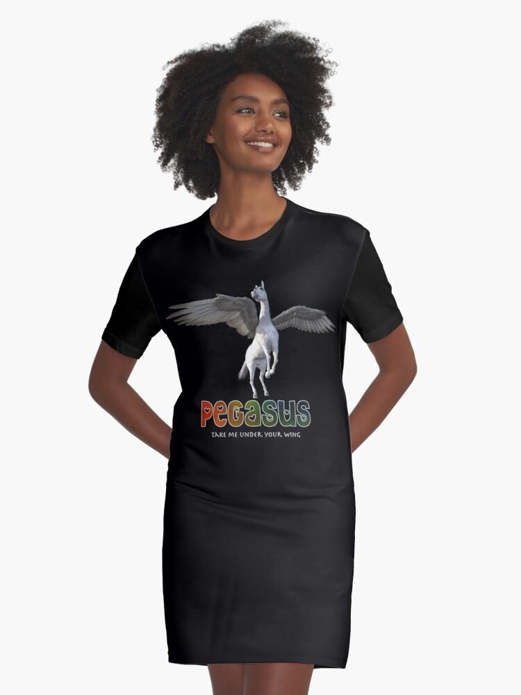 Pegasus - Take me under your wing Graphic T-Shirt Dress