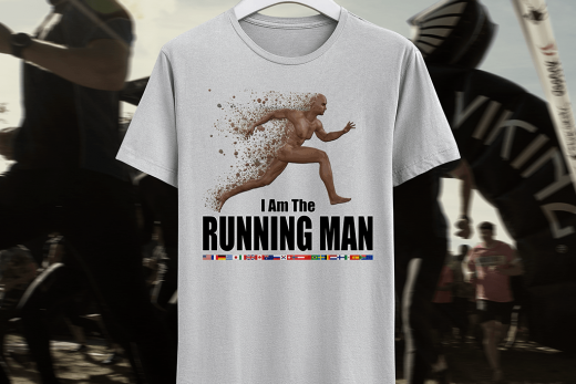Running man. I am the Running Man.