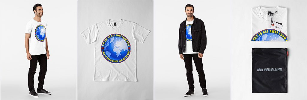 Escape t-shirt.