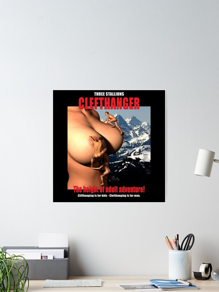 Funny poster for climbers or film lovers.