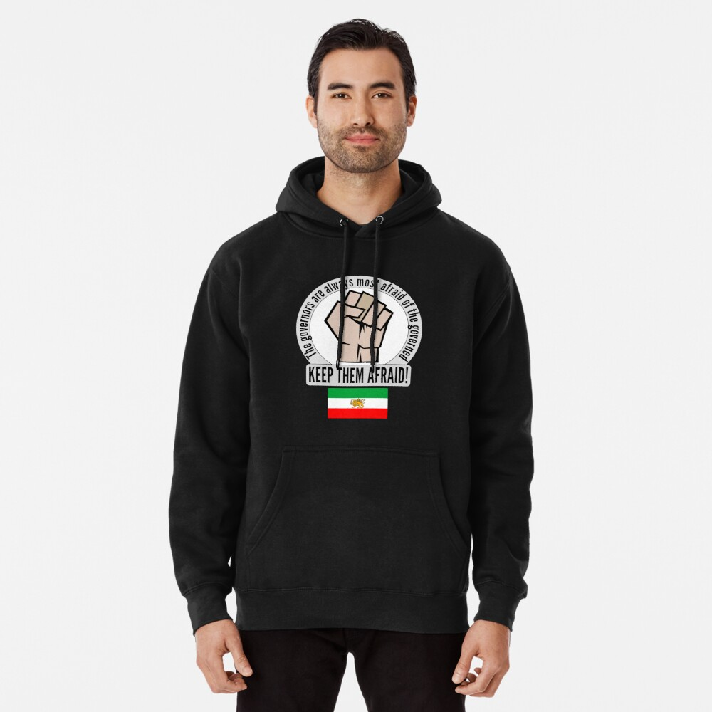 Pullover Hoodie freedom for Iran.