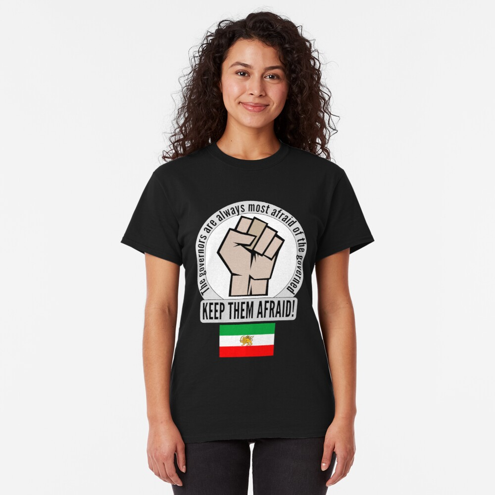Classic T-Shirt that supports the women of Iran.