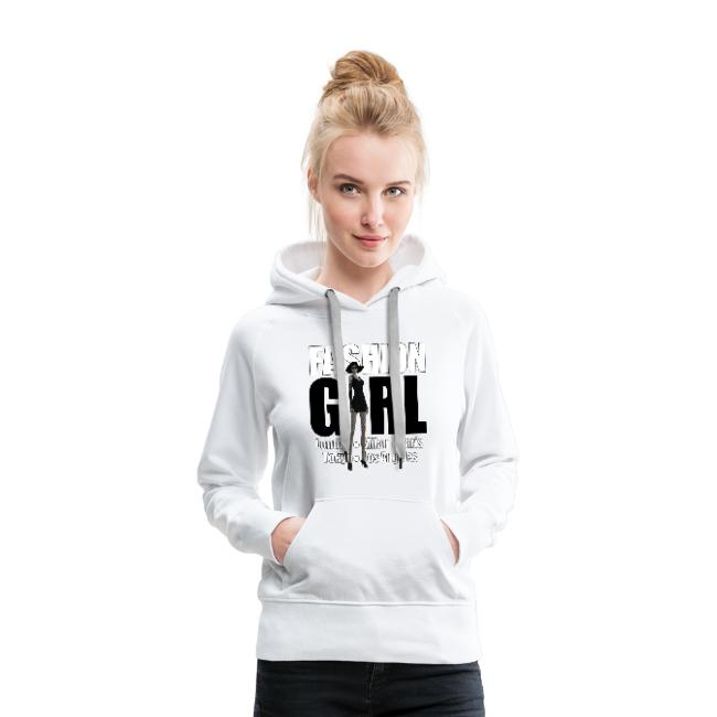 Fashion Girl - Women's Premium Hoodie.