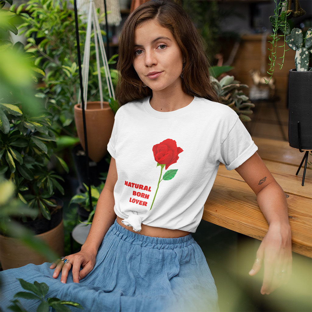 Natural Born Lover - Women's t-shirt