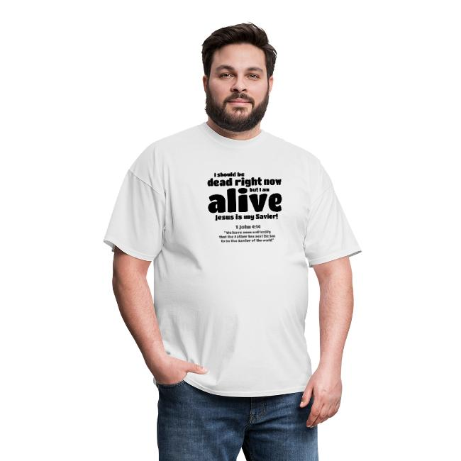 Christian t-shirt for men.