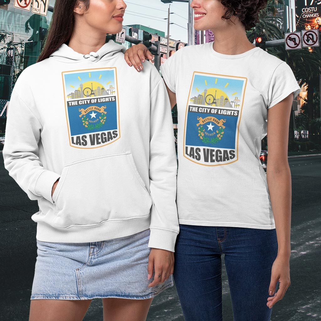 Las Vegas t-shirt.